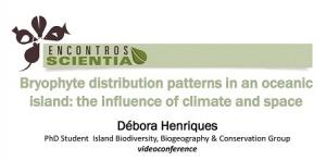 Encontro Scientia Débora Henriques 5 Novembro 2015