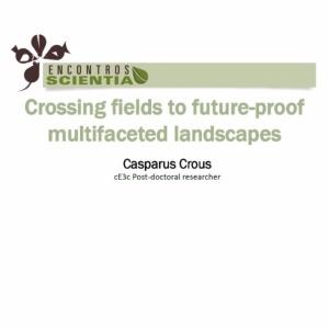 Encontro Scientia - Casparus Crous - 17th March 2016