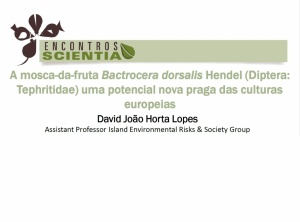 Encontro Scientia | David João Horta Lopes | 21 Abril 2016