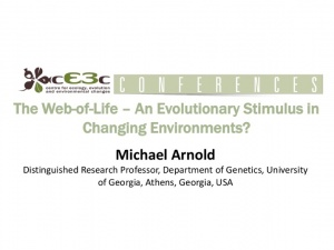 cE3c Conference | Michael Arnold| 25th May 2016