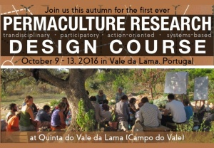 Permaculture Research Design Course - October 9-13, Vale da Lama (Portugal)