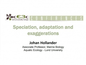 cE3c Conference | Johan Hollander | December 5th, 2016