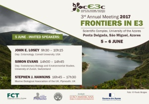 Frontiers in E3: cE3c 2017 Annual Meeting | 5-6 junho 2017,