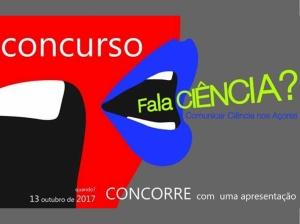 """Concurso de comunicação de ciência """"Fala Ciência?"""": inscrições até 8 de outubro, cE3c é um dos organizadores"""