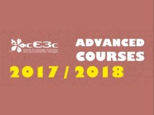 Três primeiros Cursos Avançados cE3c 2017/2018: data-limite de candidatura aproxima-se!
