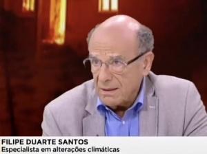 """""""Todos nós temos de ter presente que estamos num clima a mudar"""": investigador cE3c Filipe Duarte Santos na SIC Notícias"""