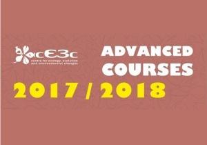 Cursos Avançados cE3c 2017/ 2018: três cursos com data-limite próxima!