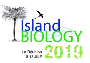 Island Biology 2019 Conference, 8 -13 July, 2019