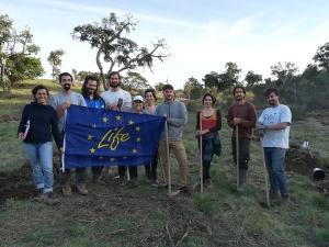 ReflorestAção: 5-10 fevereiro 2019, na Herdade da Ribeira Abaixo, Estação de Campo do cE3c (FCUL)