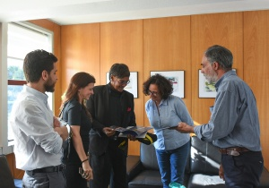 Mohan Munashinghe na Faculdade de Ciências da Universidade de Lisboa