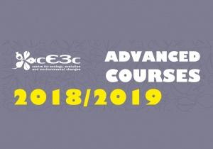 Cursos Avançados cE3c 2018/2019: Últimos cursos do ano, com data-limite em maio-junho