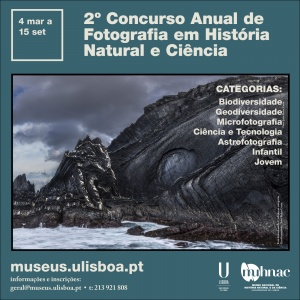 cE3c apoia 2ª edição do Concurso Anual de Fotografia em História Natural e Ciência, organizado pelo MUHNAC