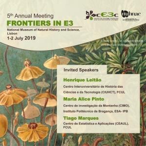 Mais recentes avanços sobre Ecologia, Evolução e Alterações Ambientais em debate em Lisboa a 1 e 2 de julho