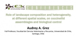 cE3c Conference | Audrey A. Grez | 8 January 2016