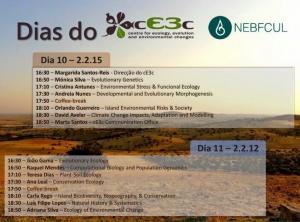 Dias cE3c - 10 e 11 de Maio, Edifício C2, a partir das 16h30