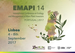cE3c will organize the EMAPI of 2017 - International Conference on Ecology and Management of Alien Plant Invasions