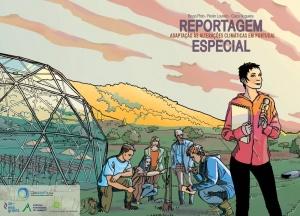 """Já está disponível para download a banda desenhada """"Reportagem Especial - Adaptação às Alterações Climáticas em Portugal"""""""