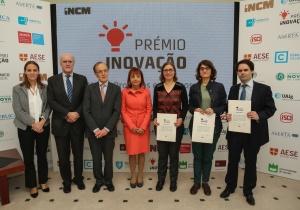 Equipa com representação cE3c recebe menção honrosa no concurso Prémio Inovação INCM