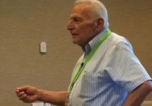 Professor Harold Mooney in Lisbon, invited by cE3c, as plenary speaker of the international conference EMAPI 2017