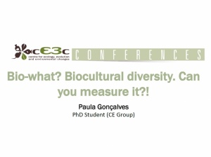 cE3c Conference | Paula Gonçalves | October 11th, 2017
