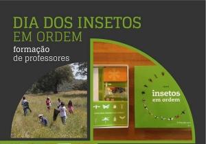 Formação de Professores: Dia dos Insetos em Ordem na Quinta Pedagógica de Braga, 3 de fevereiro