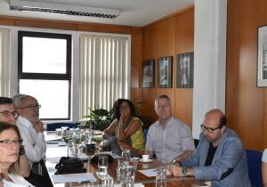 Visita do Reitor da Universidade de Bonn à Faculdade de Ciências da Universidade de LisboaO Reitor da Universidade de Bonn (Alemanha) visitou a Faculdade de Ciências da Universidade de Lisboa (FCUL) no passado dia 27 de julho, e o Centr