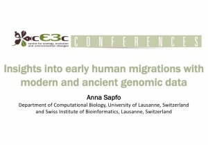 cE3c Conference | Anna Sapfo | October 26, 2018