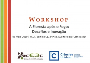 """Workshop """"A Floresta após o Fogo"""": 3 maio, 9h-12h"""