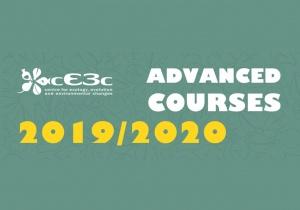 Cursos Avançados cE3c 2019/2020: cursos com data-limite de candidatura mais próxima e mudança de calendário