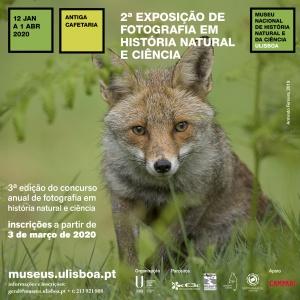 Inauguração e Cerimónia de Entrega de Prémios – 2ª edição do Concurso de Fotografia em História Natural e Ciência MUHNAC | 11 janeiro 2020, 16h00
