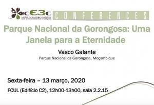 cE3c Conference | Vasco Galante | 13 março