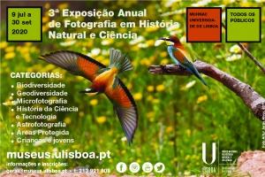 cE3c apoia 3ª edição do Concurso Anual de Fotografia em História Natural e Ciência, organizado pelo MUHNAC