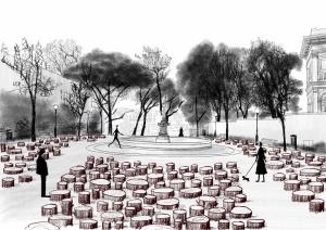 Beyond the Trees: instalação no Jardim do Torel com colaboração do cE3c