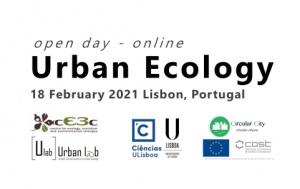 Urban Ecology Open Day: Webinars on February 18