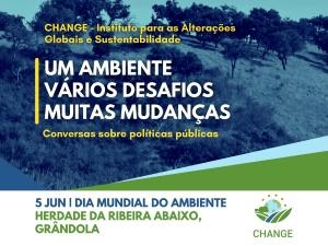 Políticas públicas para o ambiente em debate em Grândola, no Dia Mundial do Ambiente